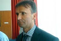 Předseda Jihomoravského fotbalového svazu Pavel Blaha.
