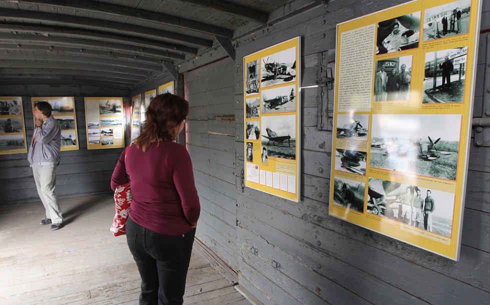 Projekt v Brně s názvem Vlak Lustig připomíná hrůzy holokaustu.