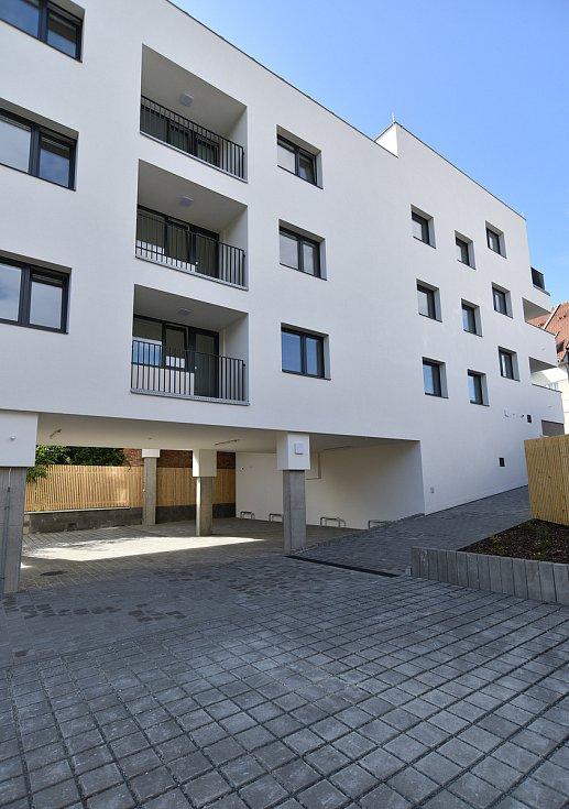 Bytový dům ve Valchařské ulici v Brně.