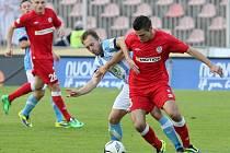 Ve 26. kole nejvyšší české soutěže přivítali fotbalisté Zbrojovky na stadionu v Srbské ulici ambiciózní Mladou Boleslav. Po bojovném výkonu remizovali 1:1.
