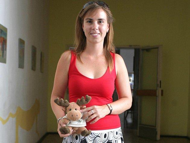 Školní psycholožka Lucie Kostková.