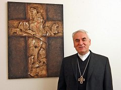 Brněnský biskup Vojtěch Cikrle.