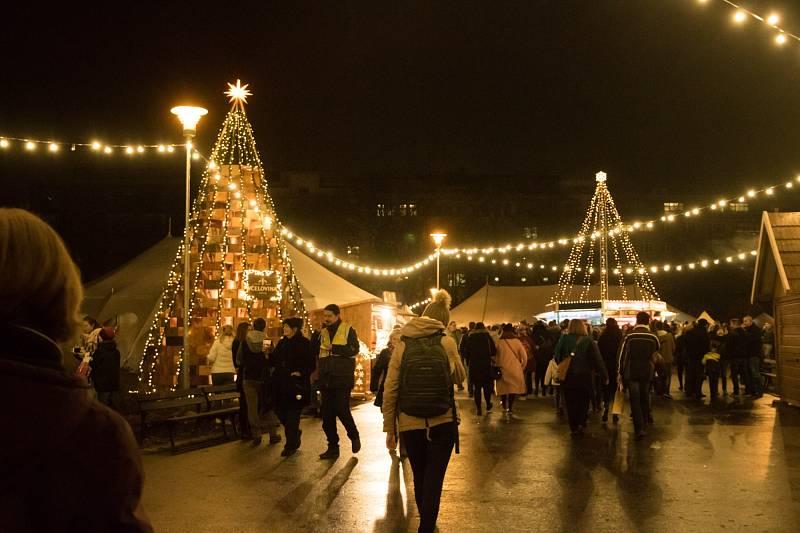 Oficiální zahájení vánočních trhů v Brně.