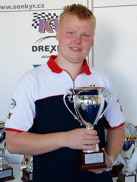 Automobilový závodník Marek Fried.