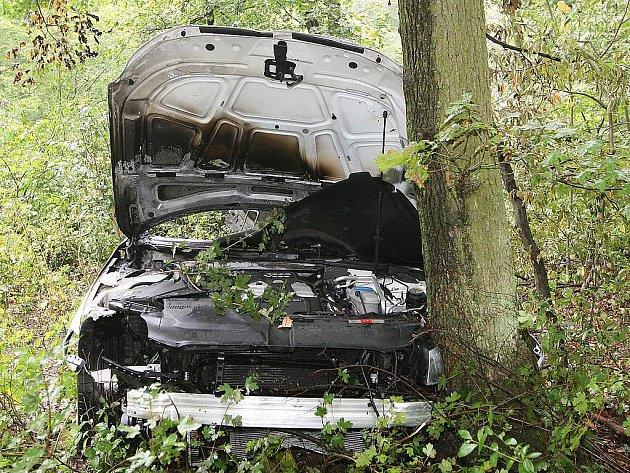 Se středně těžkým zraněním skončil v nemocnici řidič audi, který v úterý krátce po deváté hodině ráno narazil do stromu v ulici Kociánka v brněnském Králově Poli.