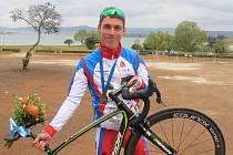 Cyklista Ivo Koblasa.
