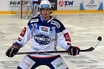 Hokejista Karel Plášek.