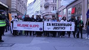 Demonstrace za svobodnou justici