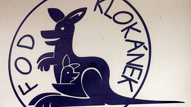Logo fondu ohrožených dětí Klokánek