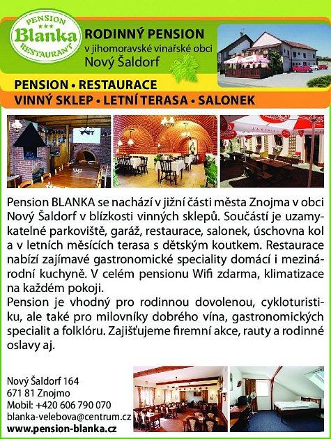 20. Penzion Blanka Nový Šaldorf