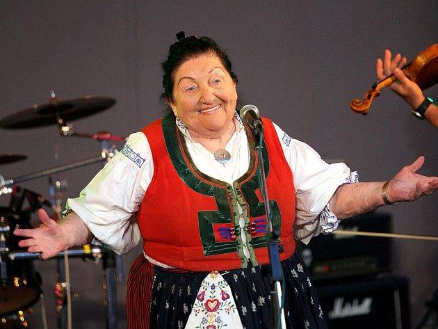 Zpěvačka Jarmila Šuláková.