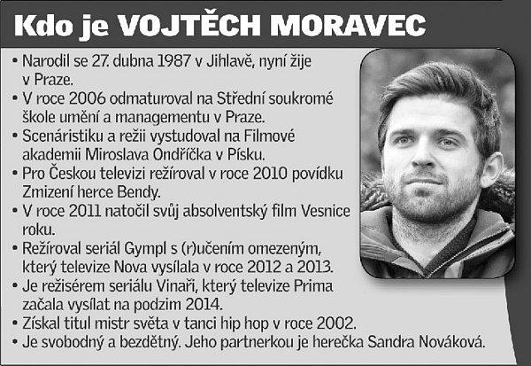 Režisér seriálu Vinaři Vojtěch Moravec.
