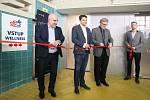 Brno 25.10.2019 - slavnostní otevření nového wellness v areálu Městského plaveckého stadionu Lužánkami.