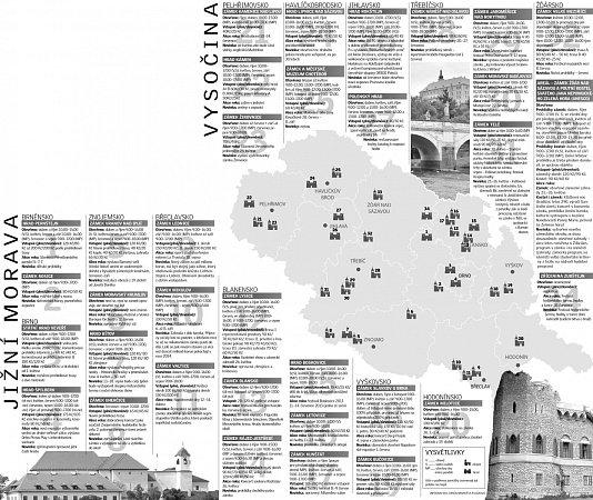 Hrady a zámky na jižní Moravě a Vysočině otevírají.