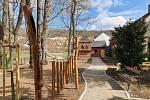 Po několikaměsíční opravě se v sobotu otevřela zahrada vily Panowských v Ivančicích na Brněnsku.