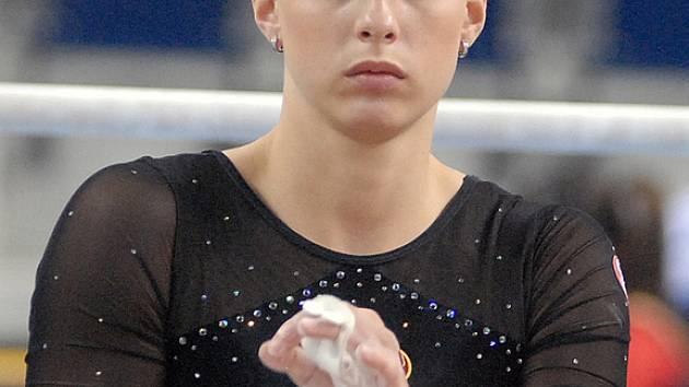 Brněnská sportovní gymnastka Jana Komrsková.