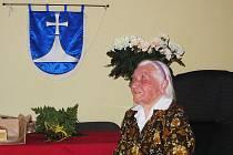 Božena Mezníková oslavila 100 let.