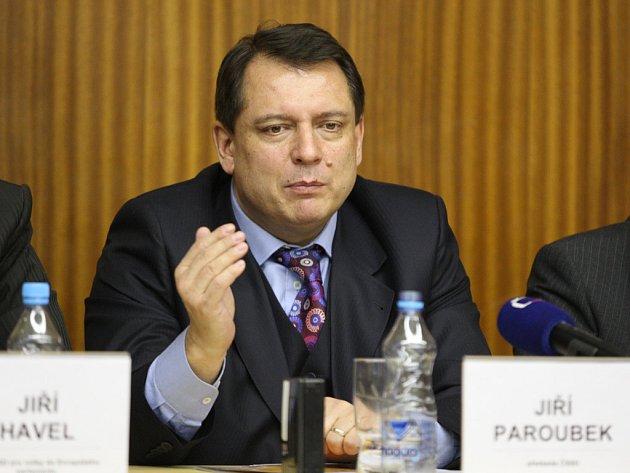 Šéf sociálních demokratů Jiří Paroubek.