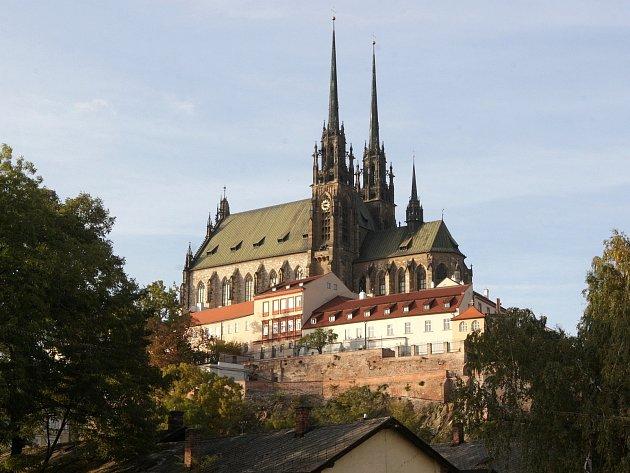 Brněnská katedrála svatého Petra a Pavla.
