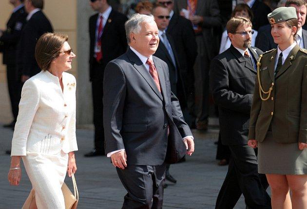 Uvítací ceremoniál pro prezidenty v Brně