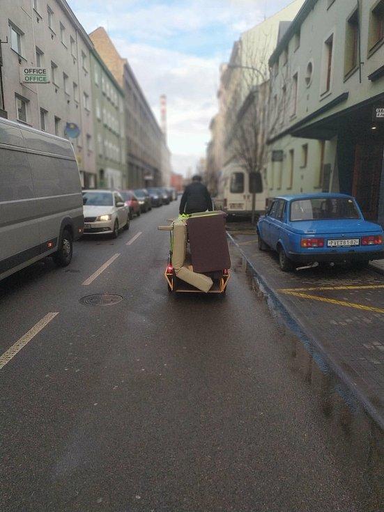 V Brně od poloviny února funguje půjčovna nákladních kol.