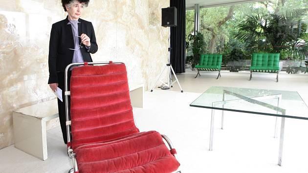 Představení nových kusů originálního nábytku v brněnské vile Tugendhat.