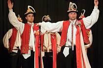 Soutěž o nejlepšího tanečníka slováckého verbuňku, kterou pořádá v sobotu večer soubor Kyničan z Moravských Knínic.