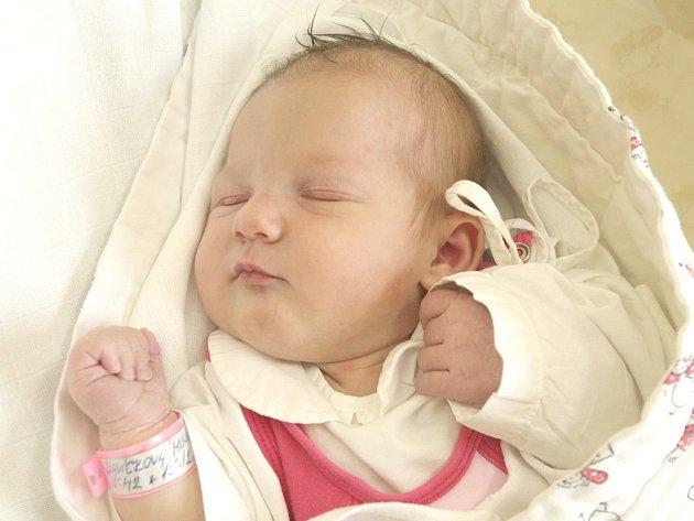 Monika Slavíčková z Brna nar. 15.12.2014 v Nemocnici Milosrdných bratří