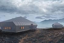 Návrh nové podoby polární stanice Eco-Nelson od brněnských architektů.