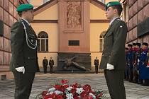 V Brně si připomněli výročí konce druhé světové války u Kounicových kolejí.
