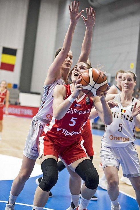 Basketbal žen ČR - Belgie