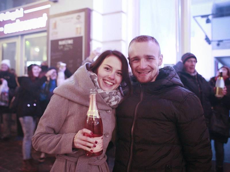 Silvestr 2016 v Brně.
