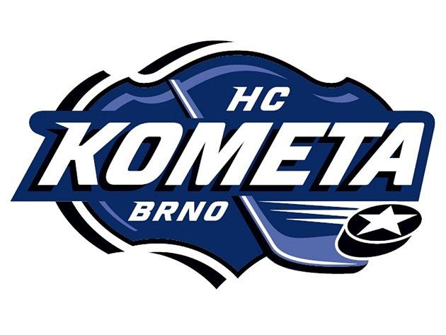 Nové logo hokejové Komety Brno.