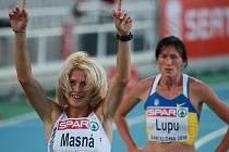 Pokud půlkařka Lenka Masná zaběhne olympijský limit, podívá se na soutěž pod pěti kruhy poprvé v kariéře.