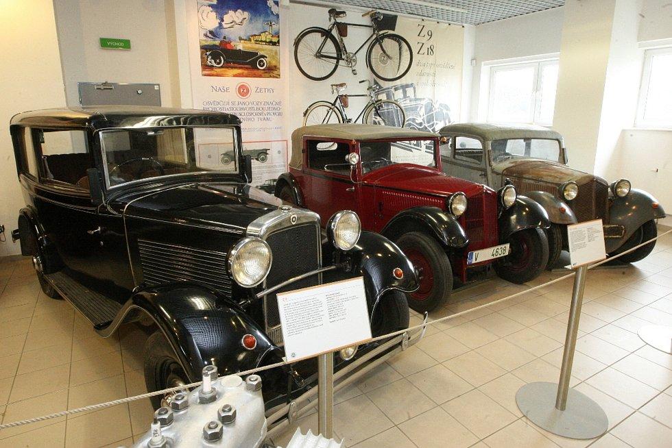 Výstava Babička Zetka v brněnském Technickém muzeu.