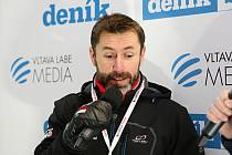 Jiří Snítil na Olympijském festivalu v zóně Deníku.