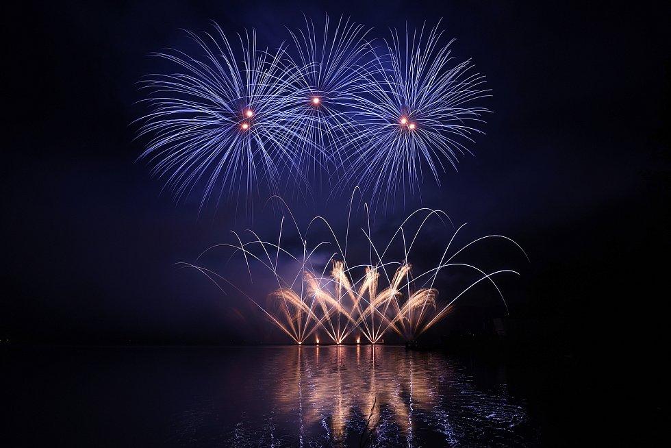 Brno 8.6.2019 - Ignis Brunensis - ohňostroj Filipíny