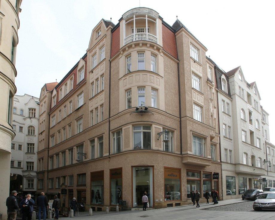 Dům určený ke směně za pozemky pro stavbu stadionů za Lužánkami - Průchodní ulice 2.