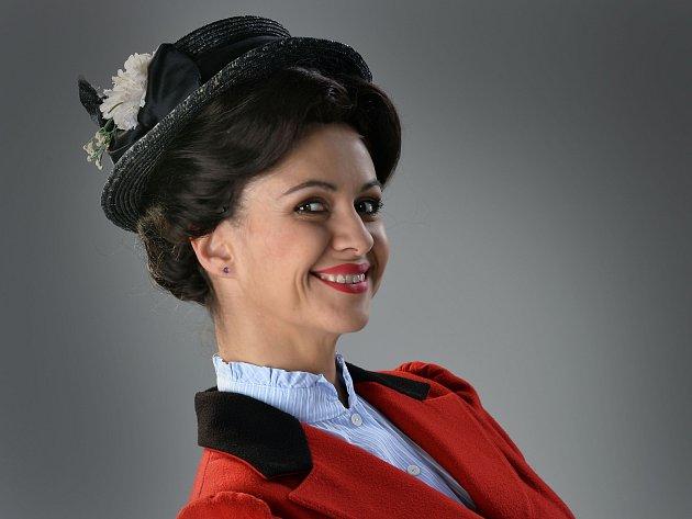 Ivana Vaňková jako Mary Poppins.