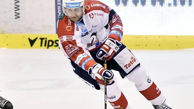 Petr Hubáček v Brně s Pardubicemi zvítězil, žádný kanadský bod si ale nepřipsal.