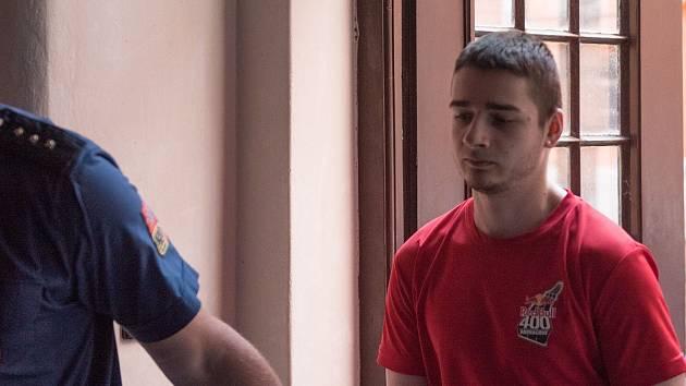 Na snímku obžalovaný Jan Sivera.