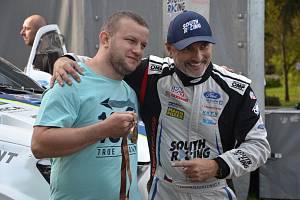 Posádka Tomáš Ouředníček (vpravo) - David Křípal.