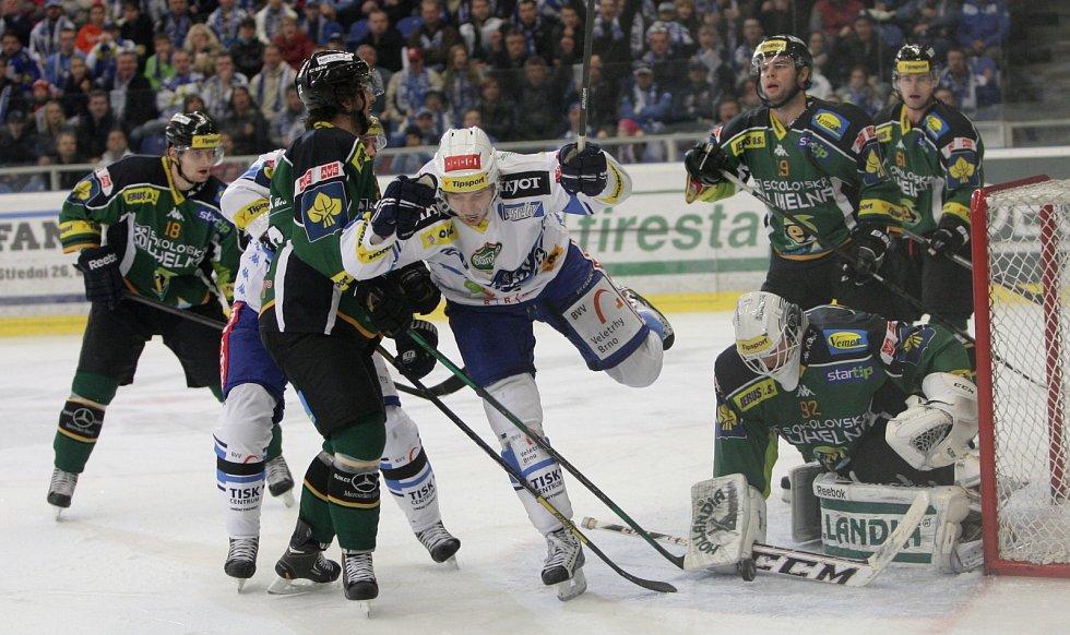 Kometa doma porazila Karlovy Vary 3:1.