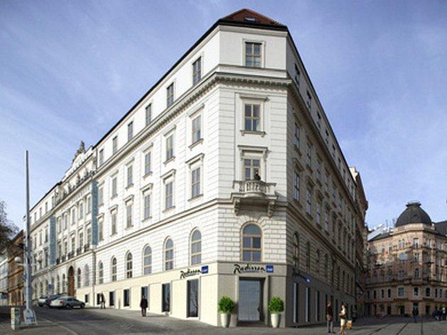 Hotel Radisson Brno (bývalý Padowetz).