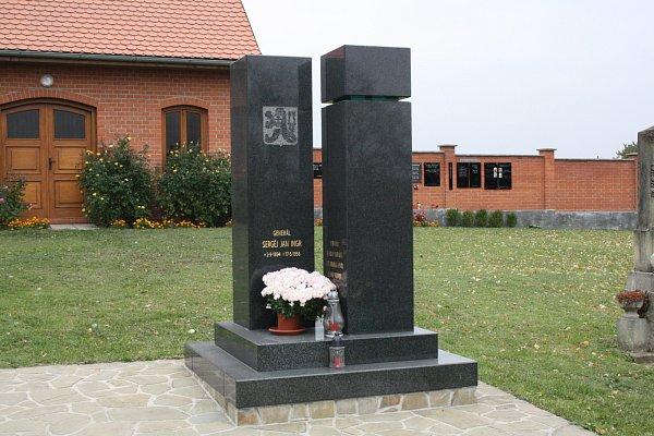 Hrob Sěrgeje Jana Ingra.