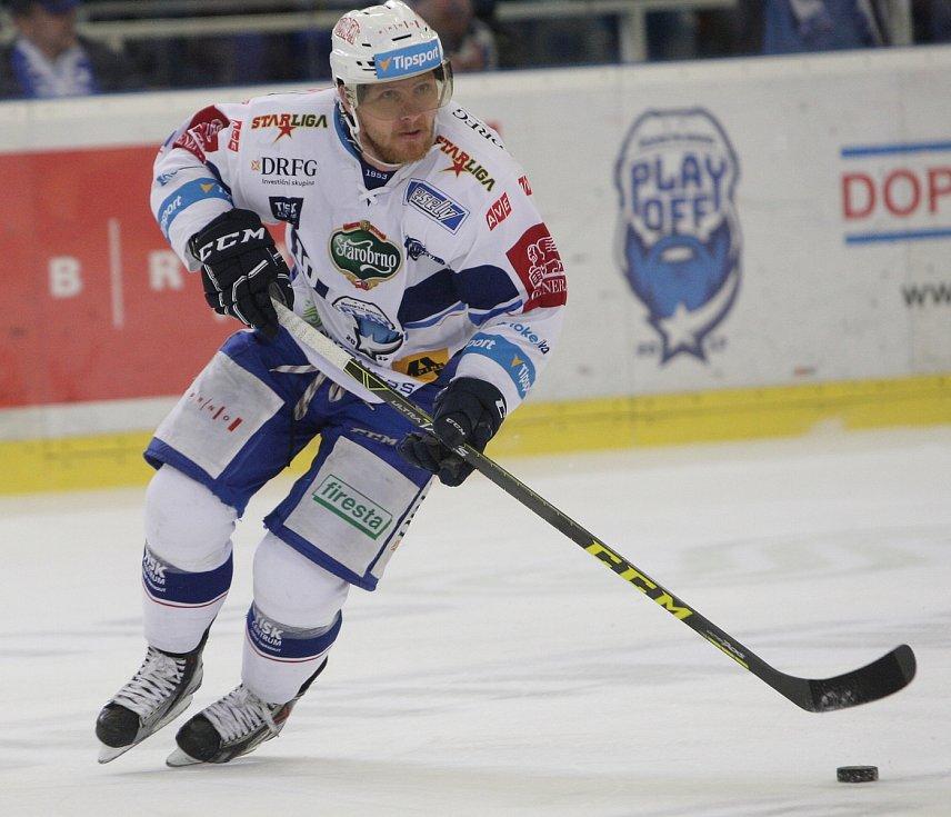 Hokejisté brněnské Komety ovládli finále play off extraligy. Jedním z tahounů byl Martin Erat.