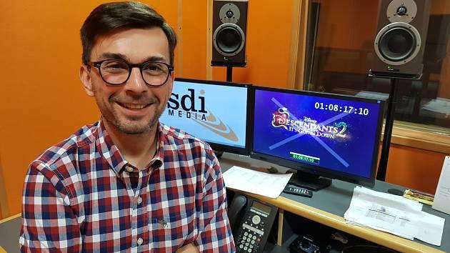 Dabér Michal Michálek z Hodonína je exkluzivním hlasem Mickey Mouse v České republice.