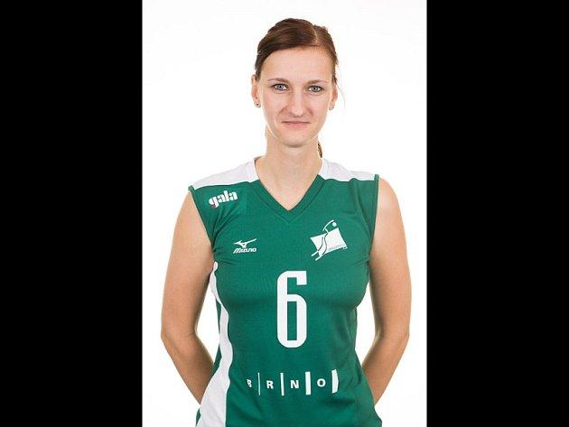 Volejbalistka Králova Pole Vendula Měrková.