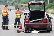 Nehoda v Ostravské ulici si vyžádala dvě zranění.