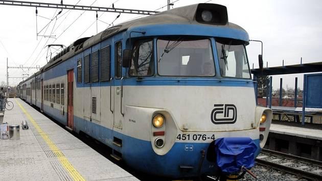 Vlak ČD.